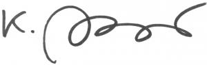 Signature Kathrin