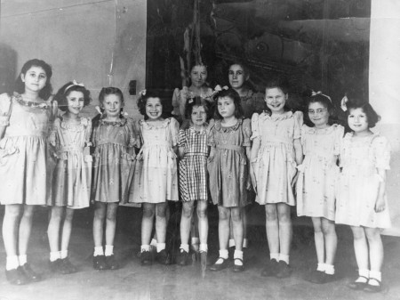 Child survivors of the Holocaust. WL Photo Archive 7791.