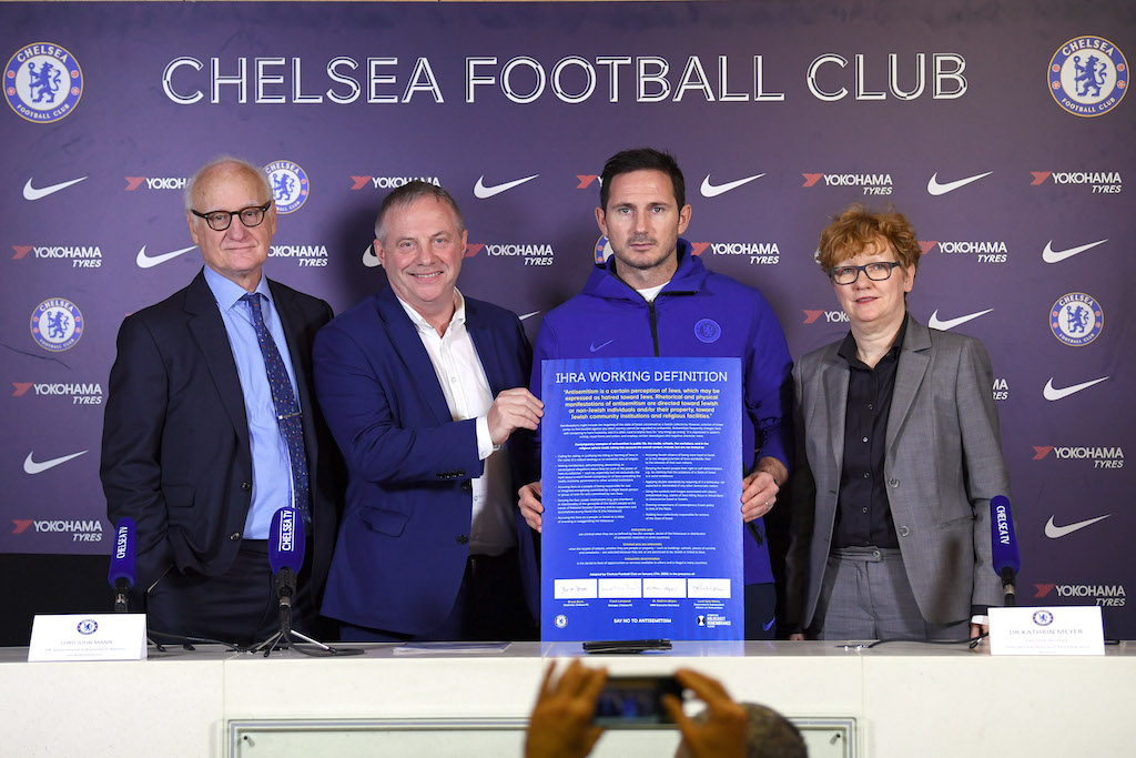 Chelsea FC adopts working definition of antisemitism
