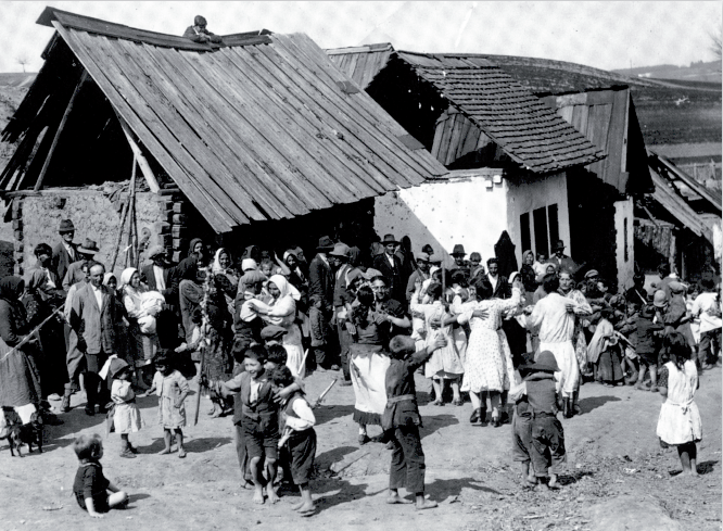 Roma life in Stegersbach, before 1938