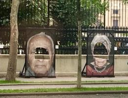 Portraits of Nazi survivors vandalised in Vienna