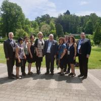 Australian Delegation, IHRA's 33rd Member Country, with Lord Eric Pickels