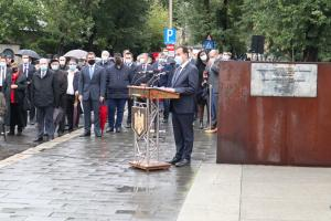 Speech held at the official commemoration ceremony of laying of wreaths, held on Friday, 9 October 2020 at the Memorial of the Victims of the Holocaust of Romania in Bucharest
