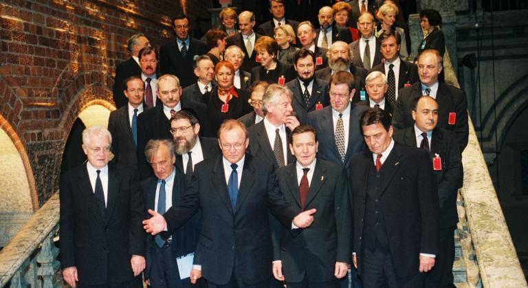 Leaders at the Stockholm Forum